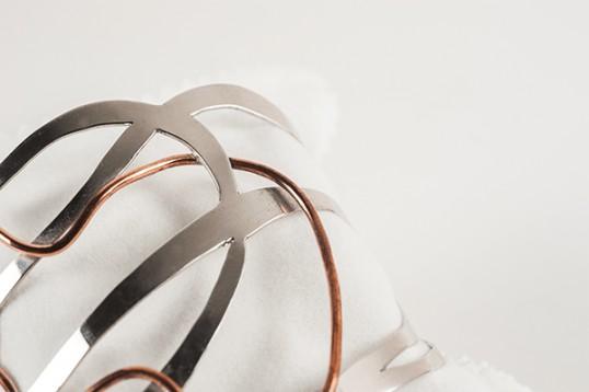 Bracciale con filo in bronzo