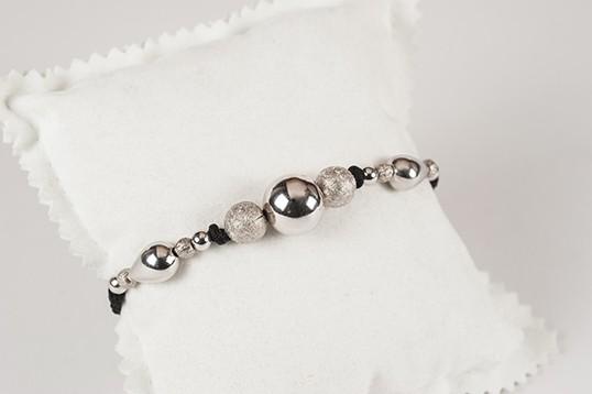 Bracciale donna in argento e pietre dure d'argento